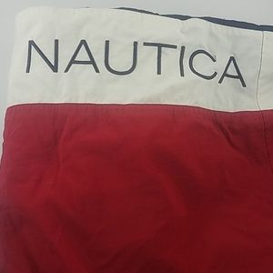 Nautica 83 Red White and Blue Swim Trunks